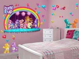 Care Bears Rock Band Wall Decals