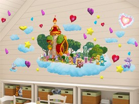 Care Bears Lighthouse Wall Decal Set