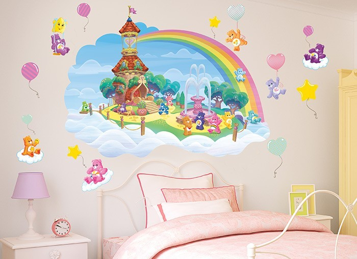 Care bears lighthouse wall decals for Care bears wall mural