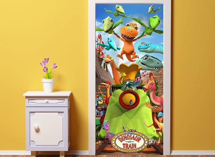 Welcome the Dinosaur Train Wall Decal