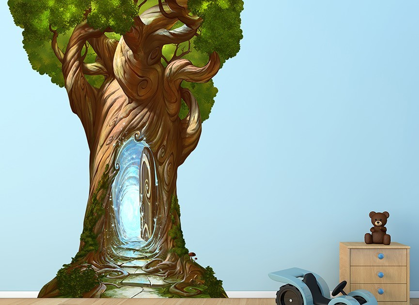 Magical Tree Wall Decal