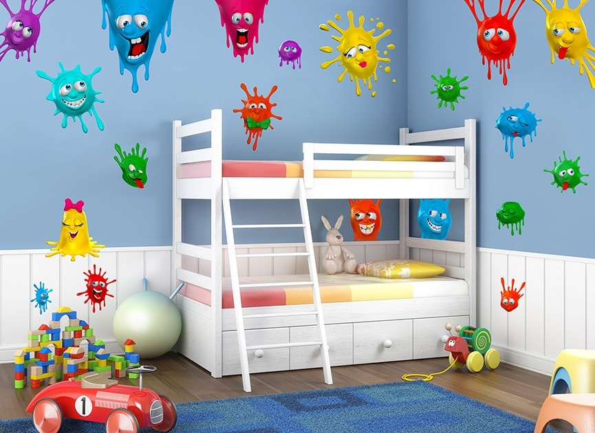 Silly Splats Wall Decals