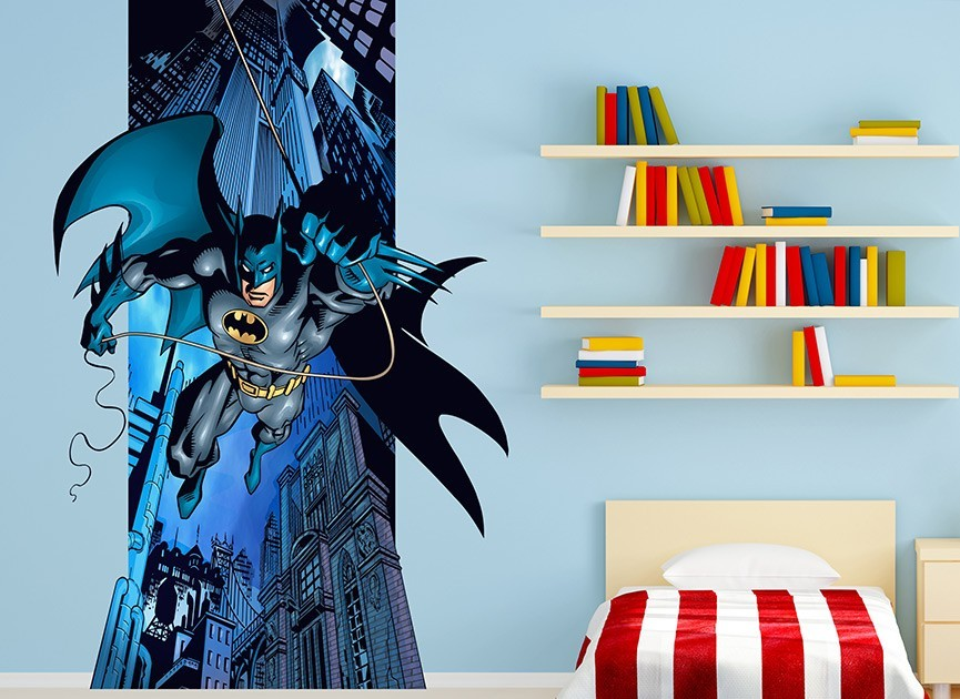 Flying Batman Wall Decal