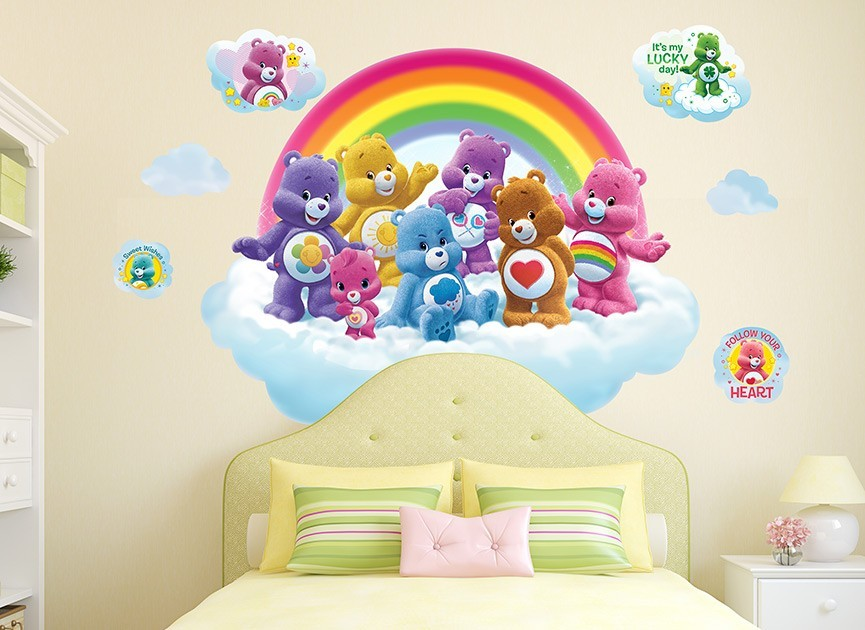 Care Bears Rainbow Cloud Wall Decal