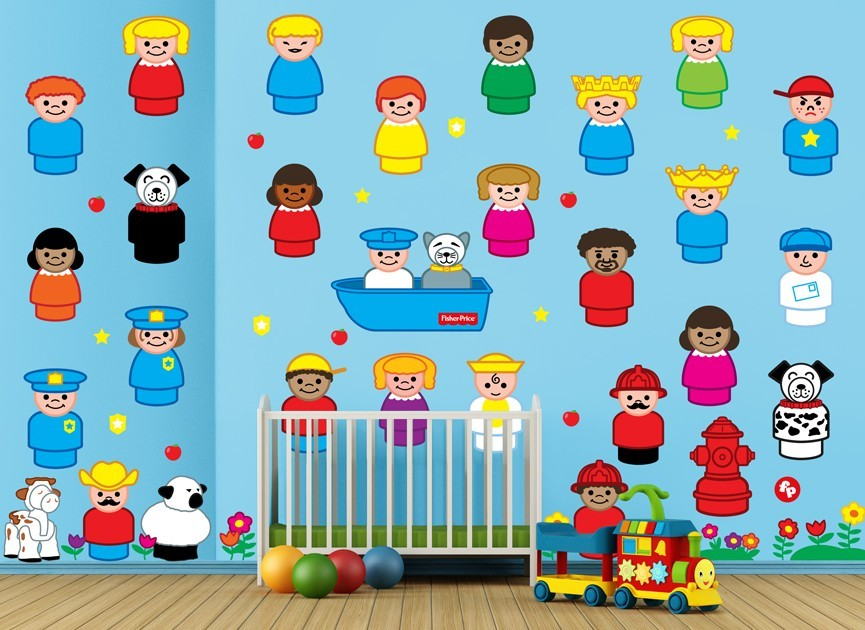 Fisher-Price-little-people-wall-decal-