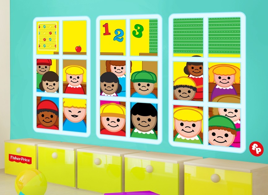 Fisher-Price-little-people-squares-wall-decal