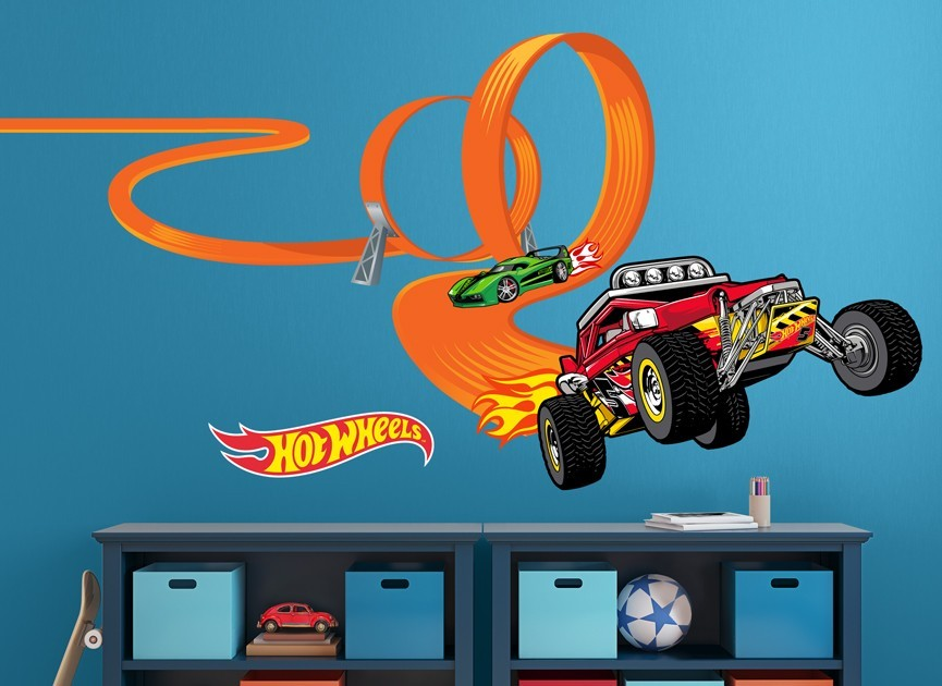 Hot-Wheels-car-loop-wall-decal