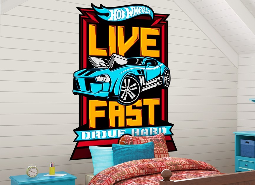 Hot-Wheels-bandana-headboard-wall-decal