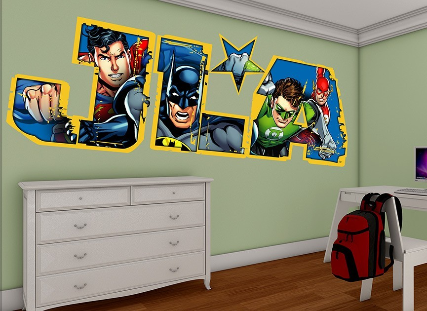 Justice League of America Wall Decal