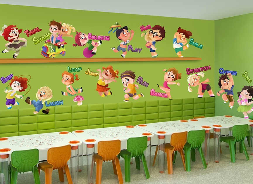 Motivational Kids Wall Decal