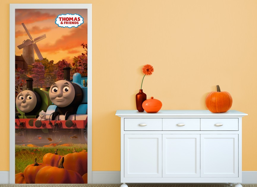 Thomas-and-Friends-autumn-door-wall-decal