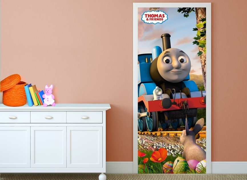 Thomas-and-Friends-spring-door-wall-decal