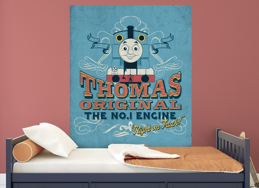 Thomas And Friends Vintage Wall Decal  Part 62