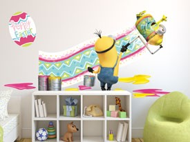 Minions Easter Wall Decal