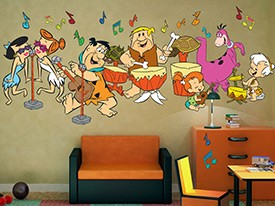 Flintstones Band Wall Decals