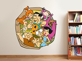 Flintstones Neighbors Wall Decals