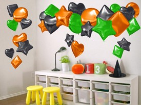 Halloween party Balloon Wall Decal Set
