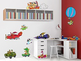 Hanna-Barbera Friends Wall Decals