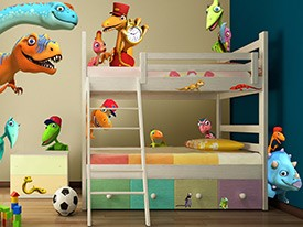 Dinosaur Train Friends Wall Decals