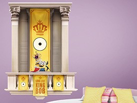 Minions King Bob Wall Decal