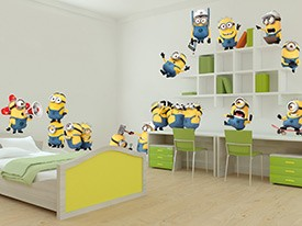 Minions Wreak Havoc Wall Decals