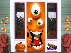 Halloween Monster Wall or Door Decal