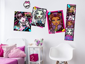 Monster High Scrapbook Wall Decal Set