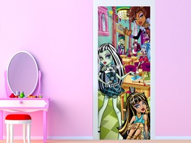 Monster High School Door Wall Decal