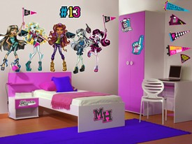 Monster High School Spirit Wall Decals
