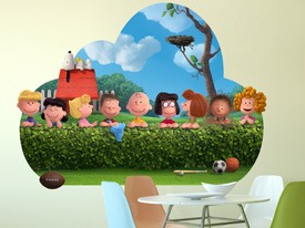 Peanuts Gang Wall Decal