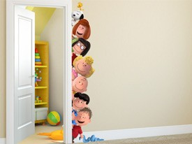 Peanuts Peek-A-Boo Wall Decal