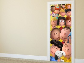 Snoopy Charlie Brown and Friends Wall Decal