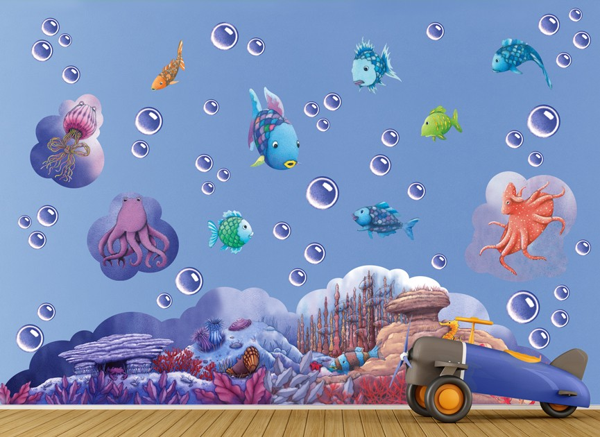 Rainbow Fish Wall Decals And Graphics Ah