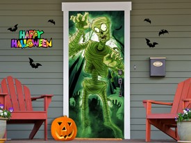 Spooky Mummy Wall or Door Decal