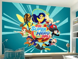 DC Super Hero Girls Character Wall Decal