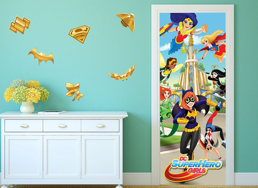 DC Super Hero Girls Wall Or Door Decal