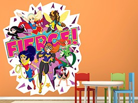 DC Super Hero Girls Fierce Wall Decal