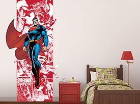 Superman Comic Wall Decal