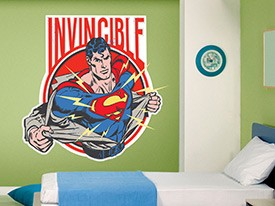 Superman Man of Steel Wall Decal