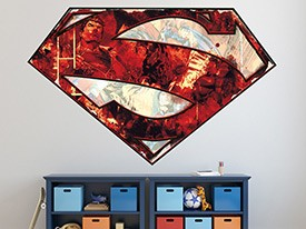 Superman S-Shield Logo Wall Decal