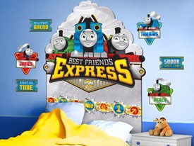 Thomas & Friends Headboard or Wall Decal 2
