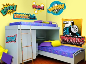 Thomas & Friends Boom Wall Decal Set