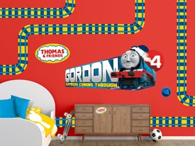 Thomas & Friends Gordon Wall Decal Set