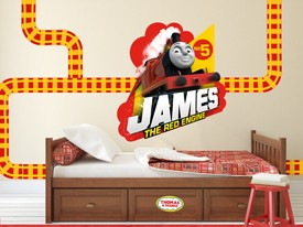 Thomas & Friends James Wall Decal Set