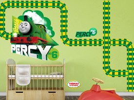 Thomas & Friends Percy Wall Decal Set