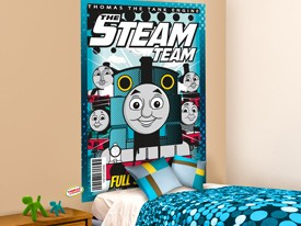 Thomas & Friends Headboard or Wall Decal 3