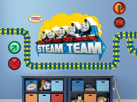 Thomas & Friends Team Wall Decal Set
