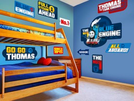 Thomas & Friends Street Sign Wall Decals