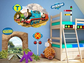 Thomas U0026 Friends Tunnel Wall Decal Set