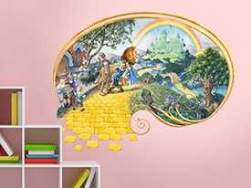 Wizard of Oz Wall Decal